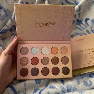Golden State of Mind-ColourPop eyeshadow palette